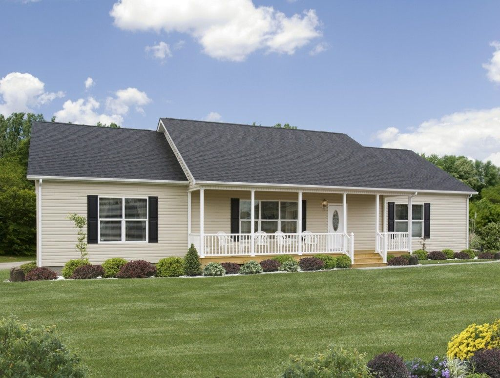 A Home With Great Curb Appeal The Grand Wilson RJ502A   Rockbridge Modular  Home. Add A Front Porch To Relax!