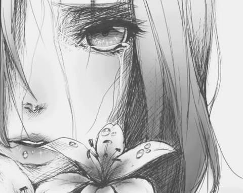 20 New For Sad Cute Anime Girl Pencil Drawing
