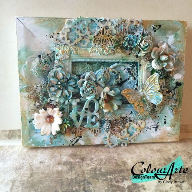~Mixed media tutorial by Cindy Brown~