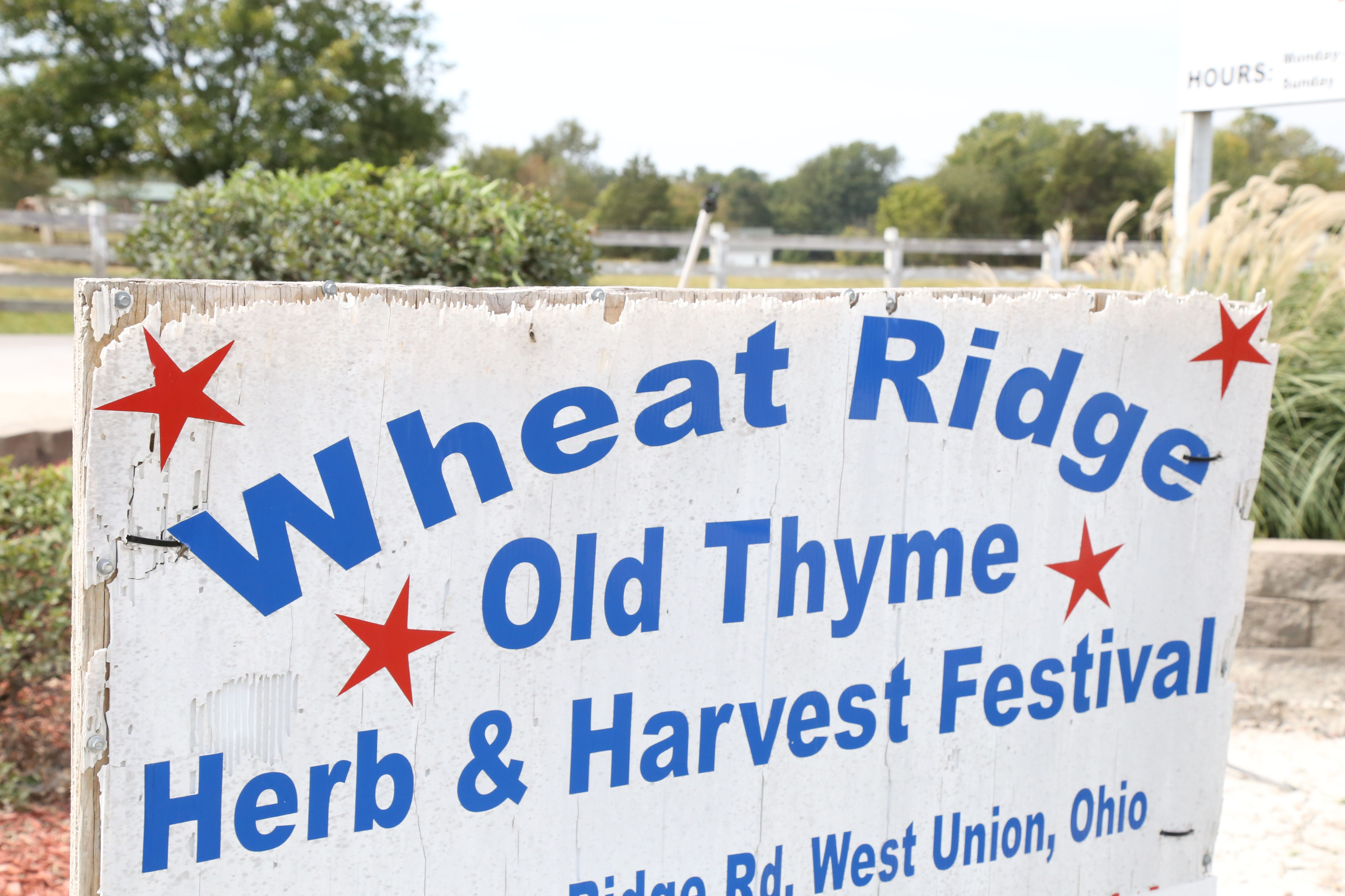 Wheat Ridge Olde Thyme Herb Fair Harvest Festival Is Held Annually Every October At 817 Tater Ridge Rd In West Union Ohio This F Thyme Herb West Union Ohio