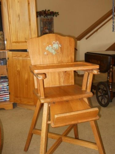 Lehman Baby Guard Wooden High Chair