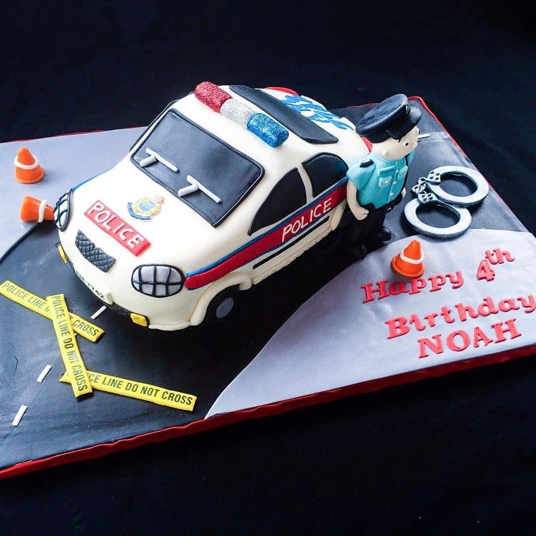 Hong Kong Police Car Cake police hk hkig car cake cakestagram