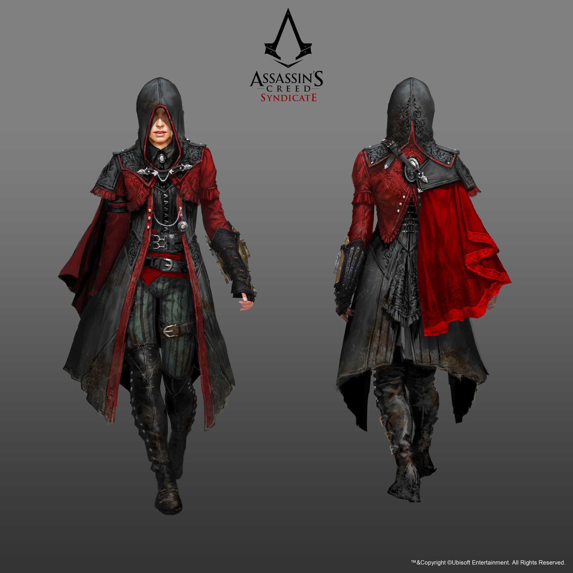 Artstation Assassin S Creed Syndicate Grant Hillier Assassins Creed Cosplay Assassins Creed Art Assassins Creed Female