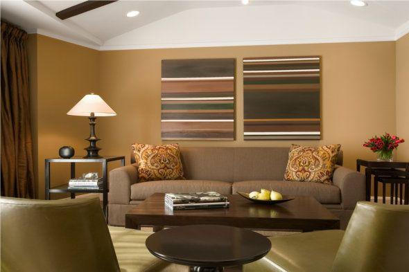Google Image Result For Http Www Blogcdn Com Www Shelterpop Com Media 2010 05 Brown Traditiona Living Room Color Living Room Colors Color Palette Living Room