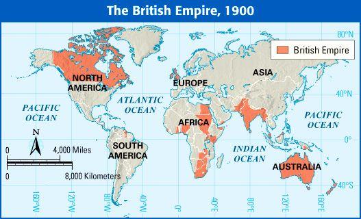 British Empire Map 1900.The British Empire 1900 Whap Period 5 Industrialization And