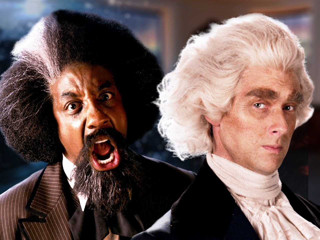 Frederick Douglass And Thomas Jefferson Face Off In Epic