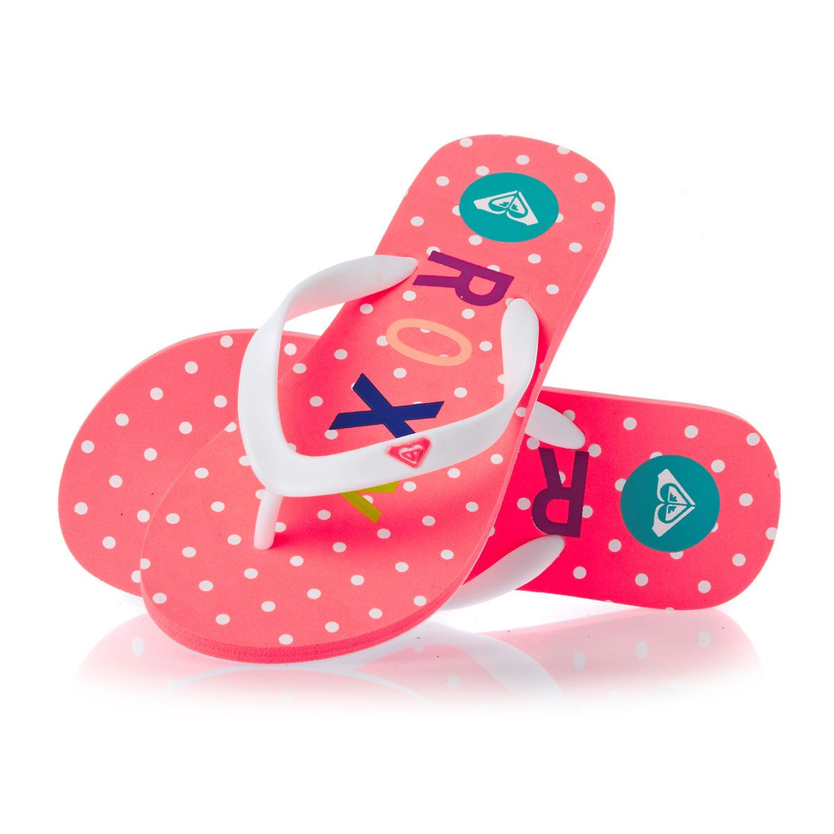 e5d993c9532 Roxy Tahiti Flip Flops - Pink Carnation