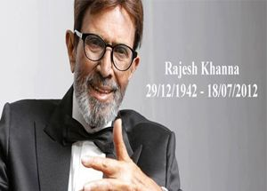 """'Time is up', 'Pack up' - these were the last words of Indian cinema's superstar Rajesh Khanna before his last breath. Megastar Amitabh Bachchan said, """"He was simple and quiet. He would attract many visitors on set and was continuously surrounded by them.The frenzy and the following he garnered was a sight to behold...Rajesh Khanna signed off with 'Time is up'  http://www.newsx.com/story/rajesh-khanna-signed-time"""