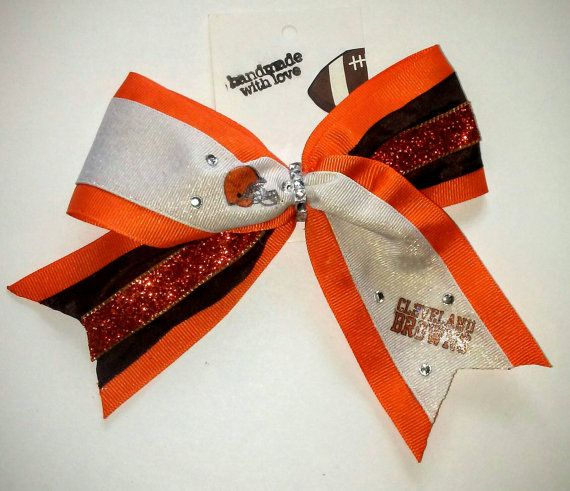 Check out this item in my Etsy shop https://www.etsy.com/listing/466224818/cleveland-browns-orange-and-brown