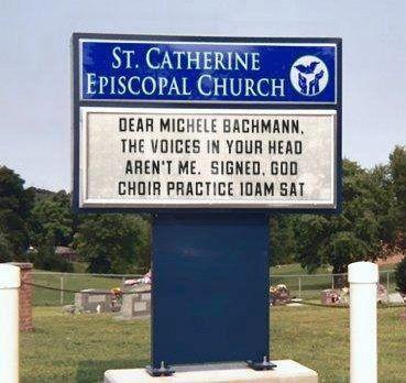 Dear Michele Bachmann....