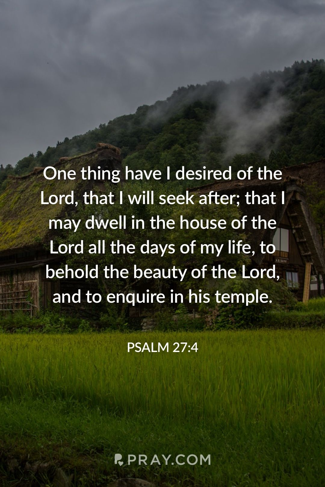 PSALM 274 ️ 🔊🙉 Hear daily verses with a prayer on Pray