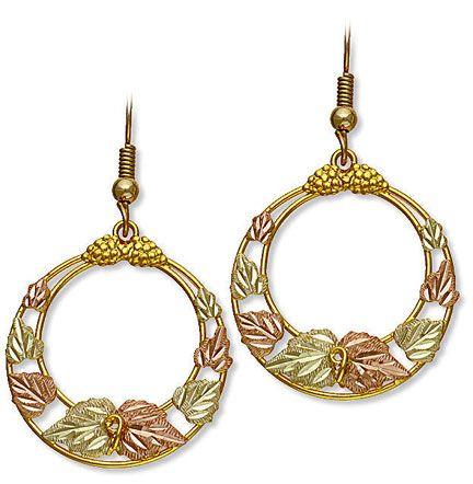 The Best Black Hills Gold Dangle Earrings By Landstroms