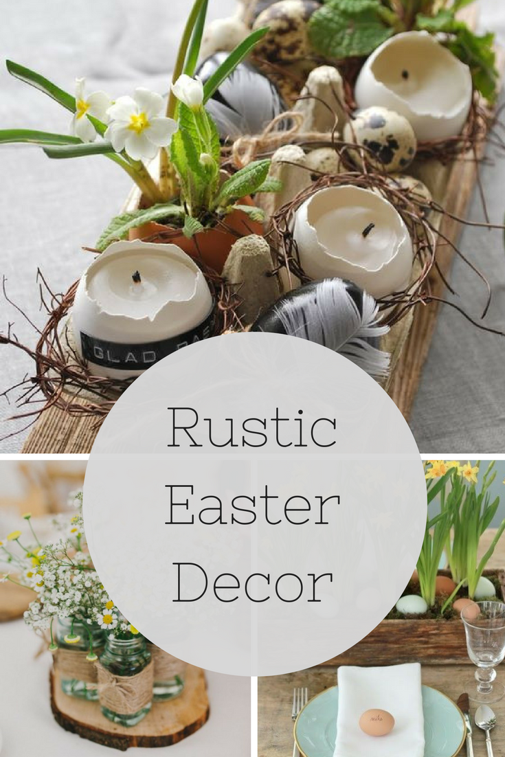 Easy Easter Decor Rustic Easter Decor Orange Home Decor Home