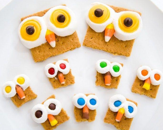 #DIY Owl S'mores ;-)