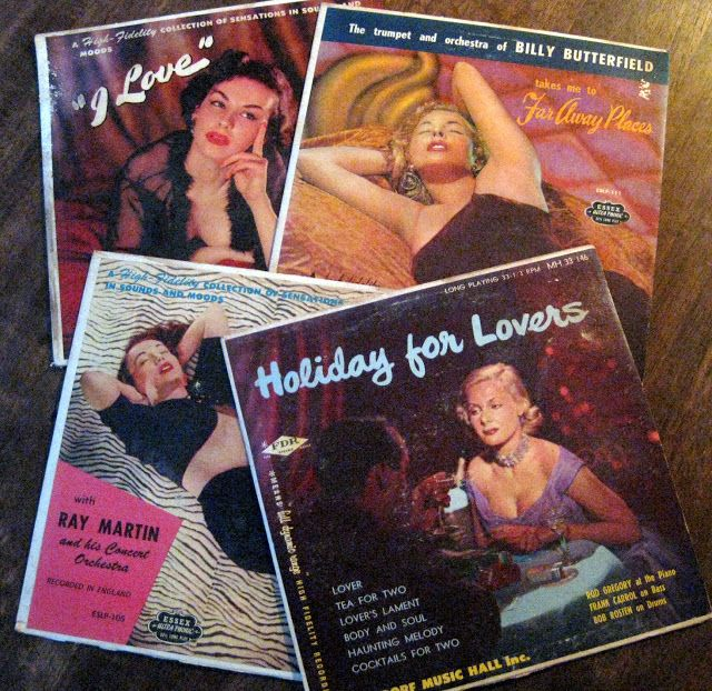 vintage records to put you in the mood