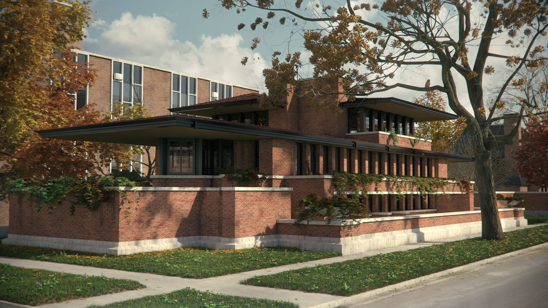 Frank lloyd wright 39 s effort to transform the spatial for Architecture wright