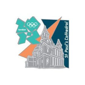 Price: $8.95 - London 2012 Olympics St. Pauls' Cathedral - TO ORDER, CLICK THE PHOTO
