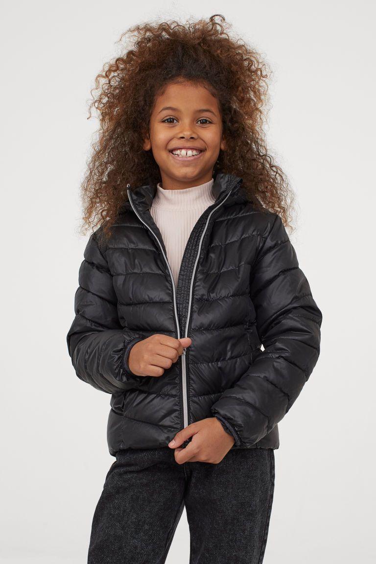 Lightweight Puffer Jacket Black Kids H M Us In 2021 Puffer Jacket Black Black Kids Puffer Jackets [ 1152 x 768 Pixel ]