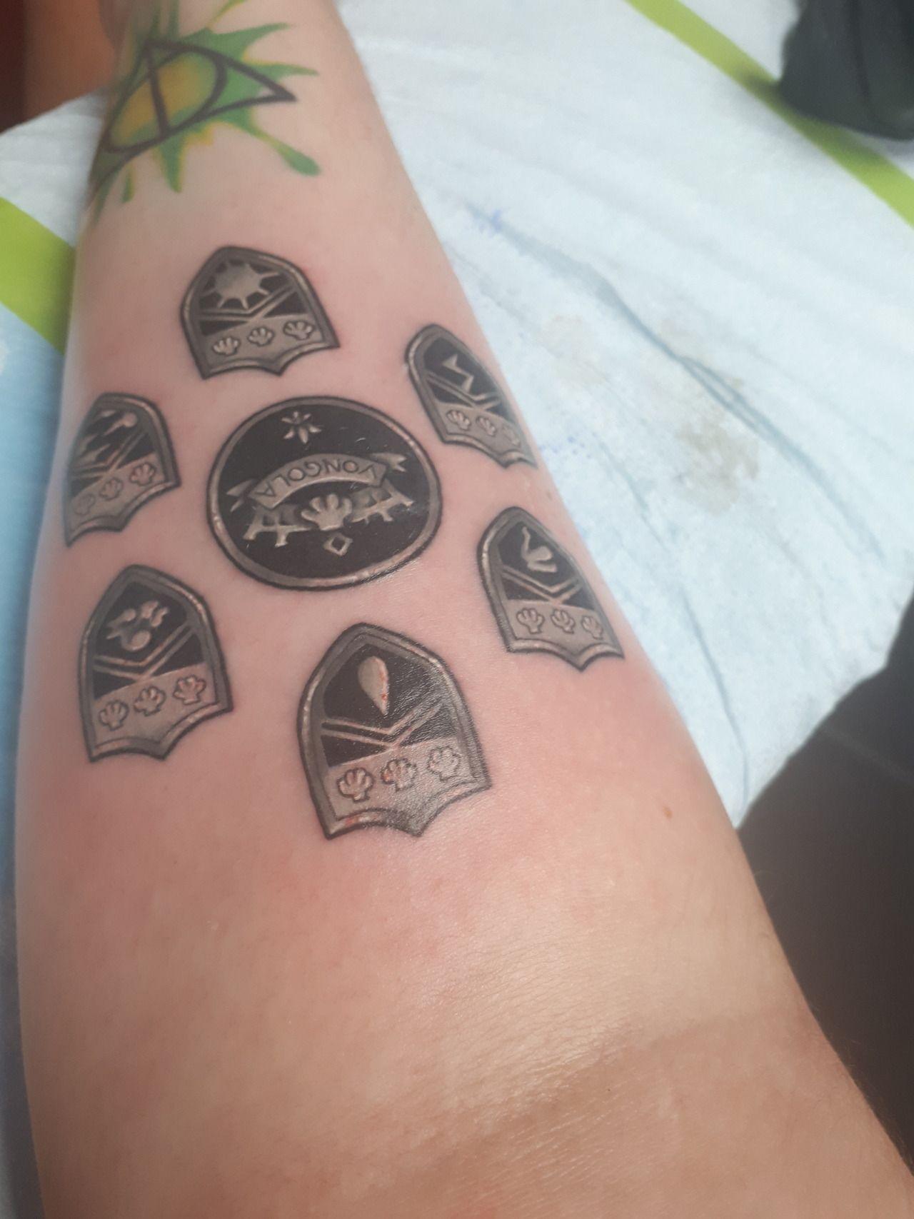 Vongola Rings Tattoo In 2020 Reborn Tattoo Tattoos Ring Tattoos