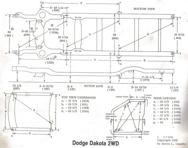 flat bed ram wiring diagrams dakota frame dimensions frame  dakota frame dimensions frame