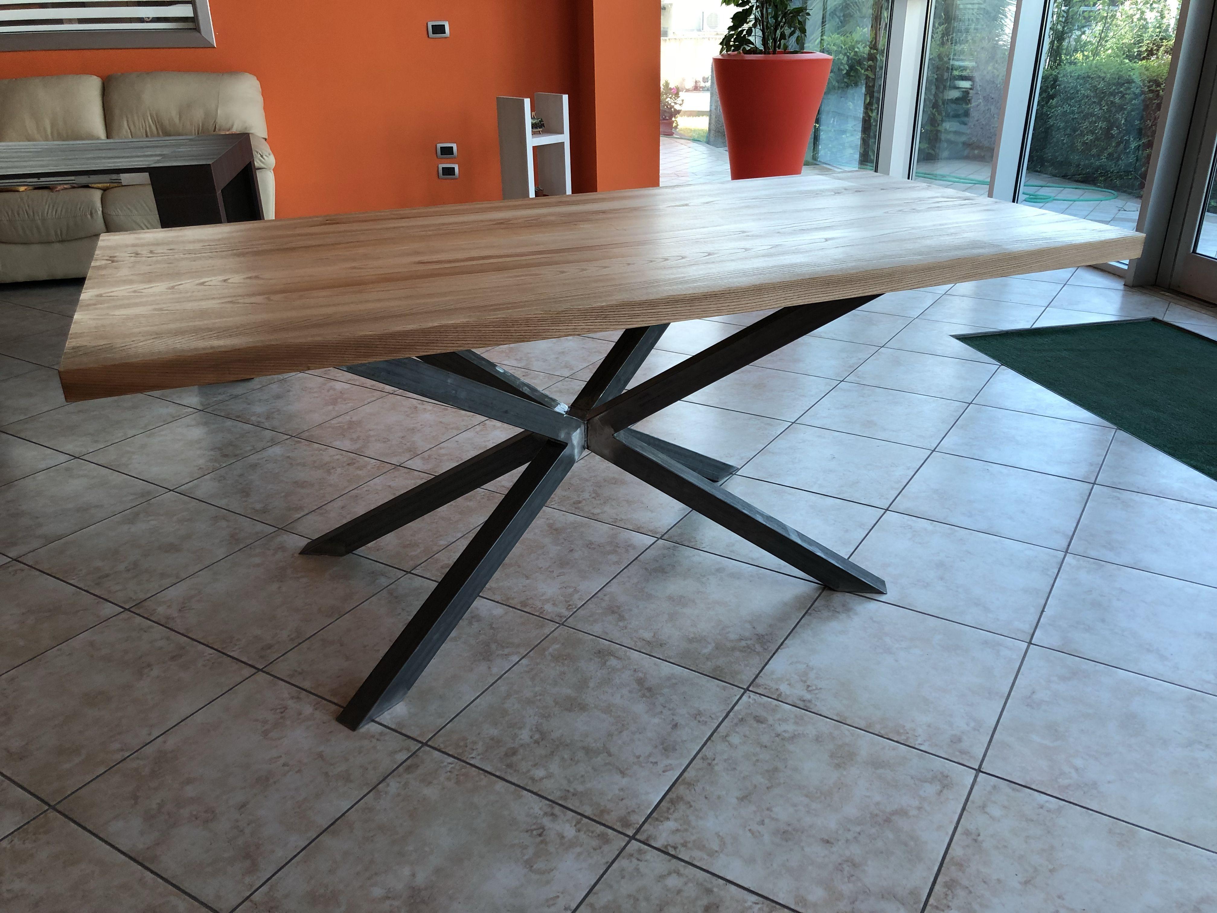 Tavolo da cucina Hawaii in legno massello nel 2019 | TAVOLI MODERNI ...