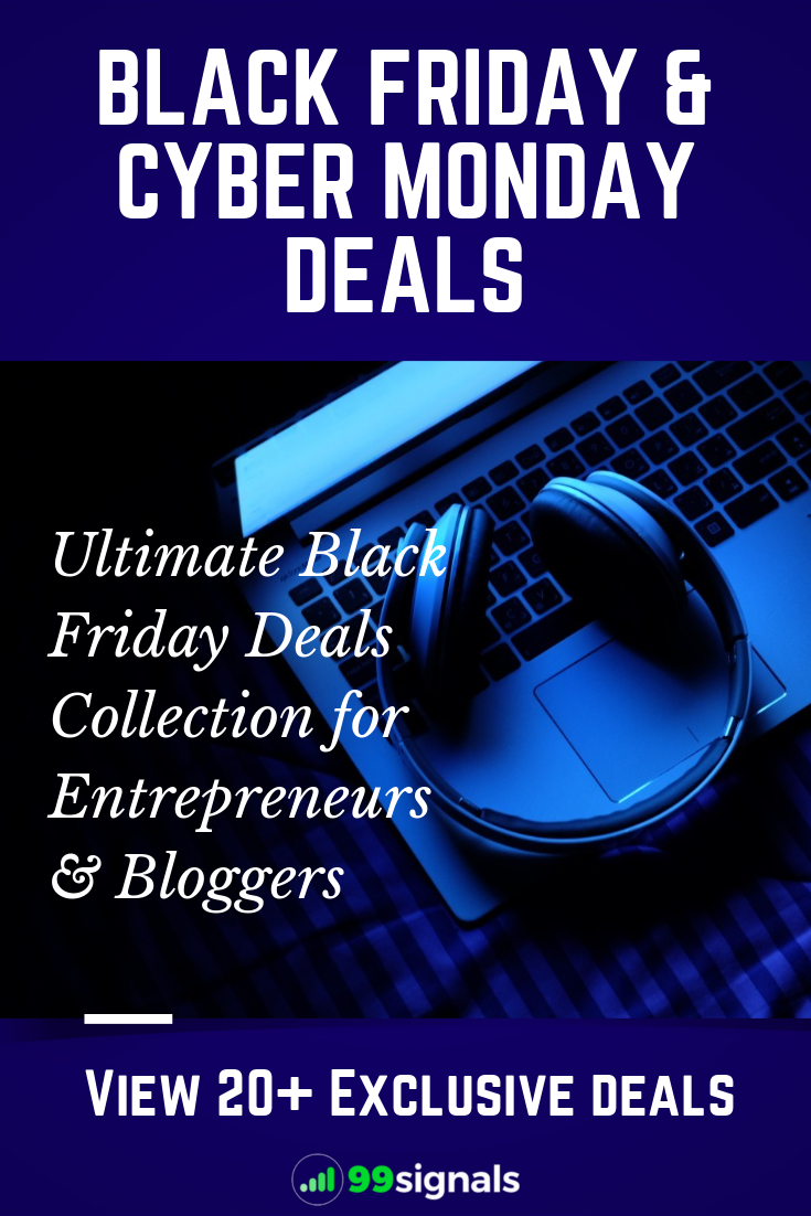 25 Black Friday Cyber Monday Deals For Entrepreneurs Bloggers Cyber Monday Cyber Monday Deals Entrepreneur