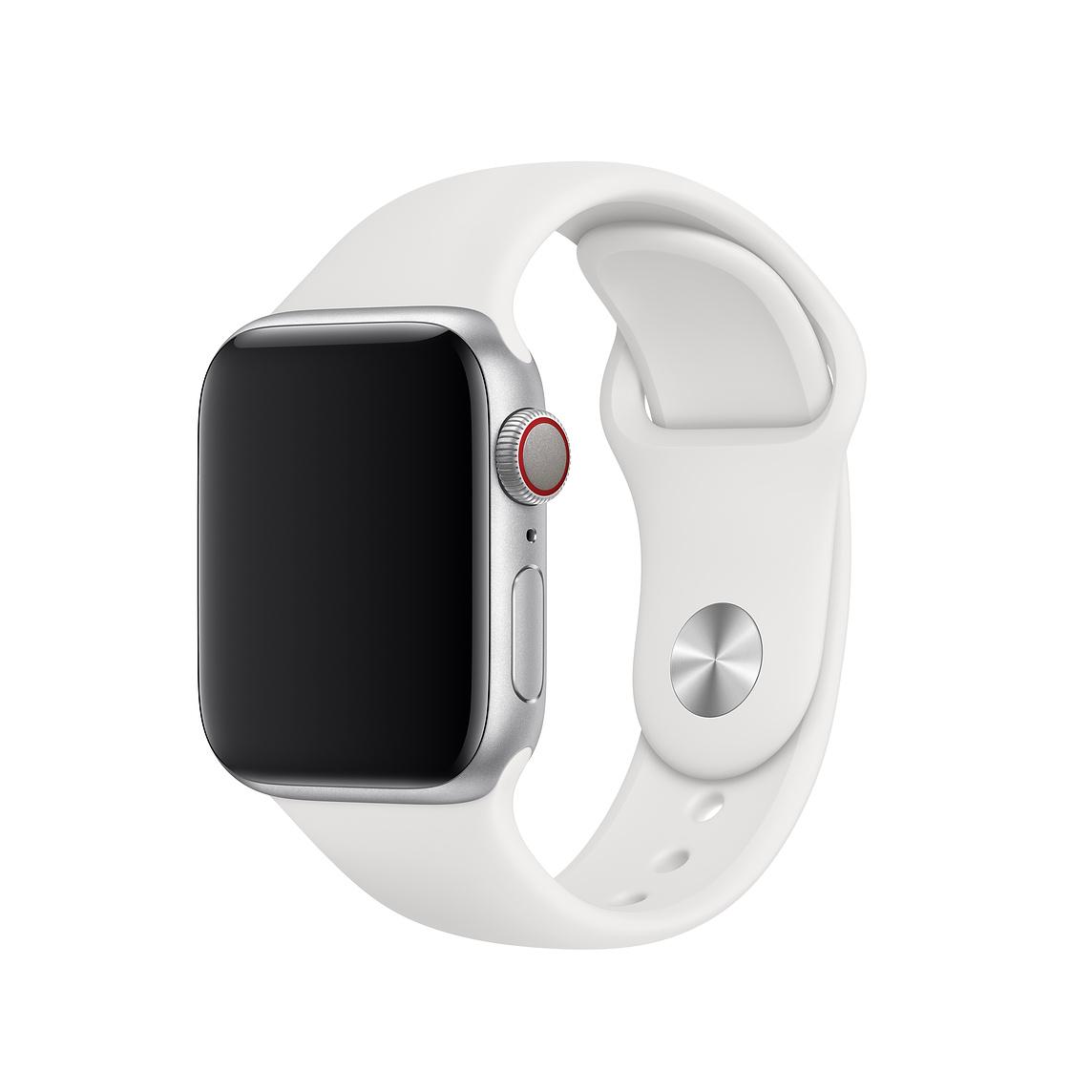 40mm White Sport Band Regular Apple watch white, Apple