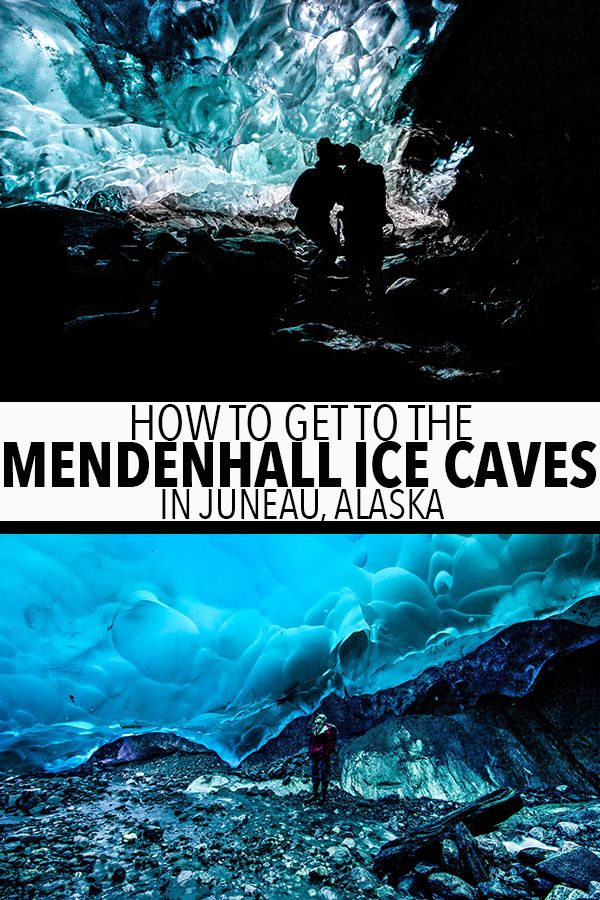 How To Get To The Mendenhall Ice Caves In Juneau, Alaska #travelnorthamerica