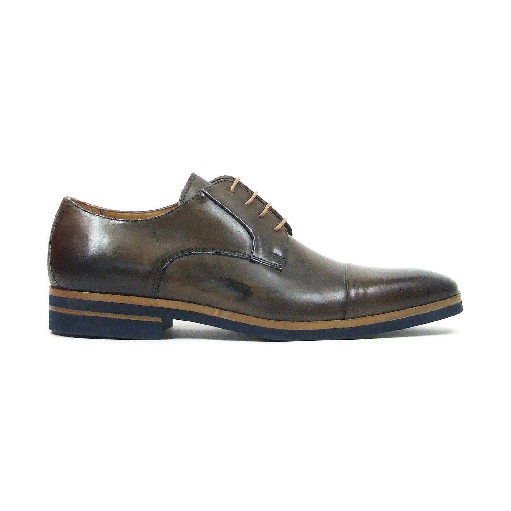 Chaussures Richelieu En Daim Bleu Giorgio Bhm61B7Ca