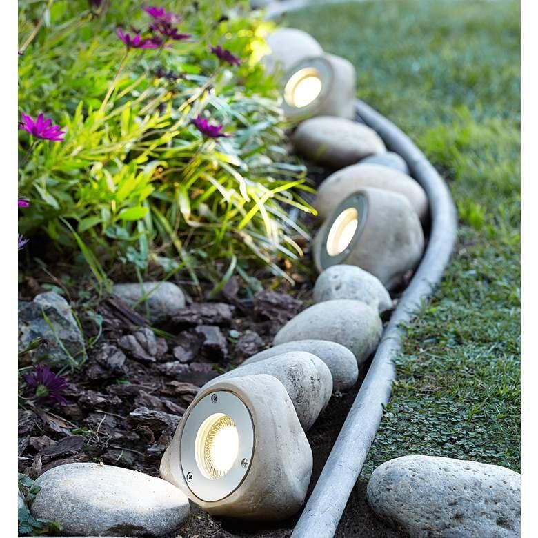 Five Light Rock LED Landscape Kit - #2R771 | Lamps Plus