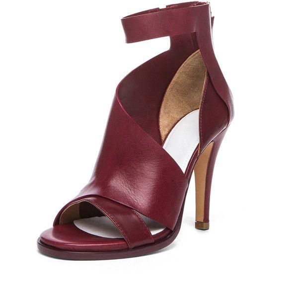 cut-out heel pumps - Red Maison Martin Margiela H2XaIiL