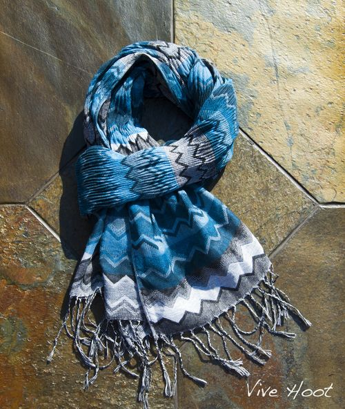 www.vivehoot.com     tribal design scarf