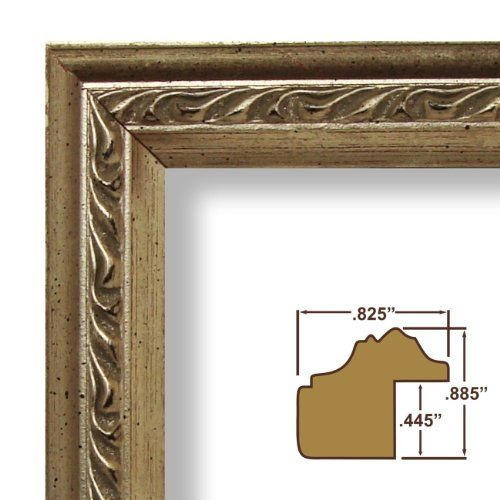 12x18 Picture / Poster Frame, Smooth Ornate Finish, .825\