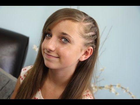 Side Flat Twists | Back-to-School | Cute Girls Hairstyles - YouTube