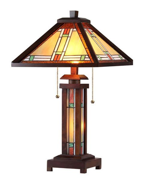 Arts Crafts Aaron Table Lamp With