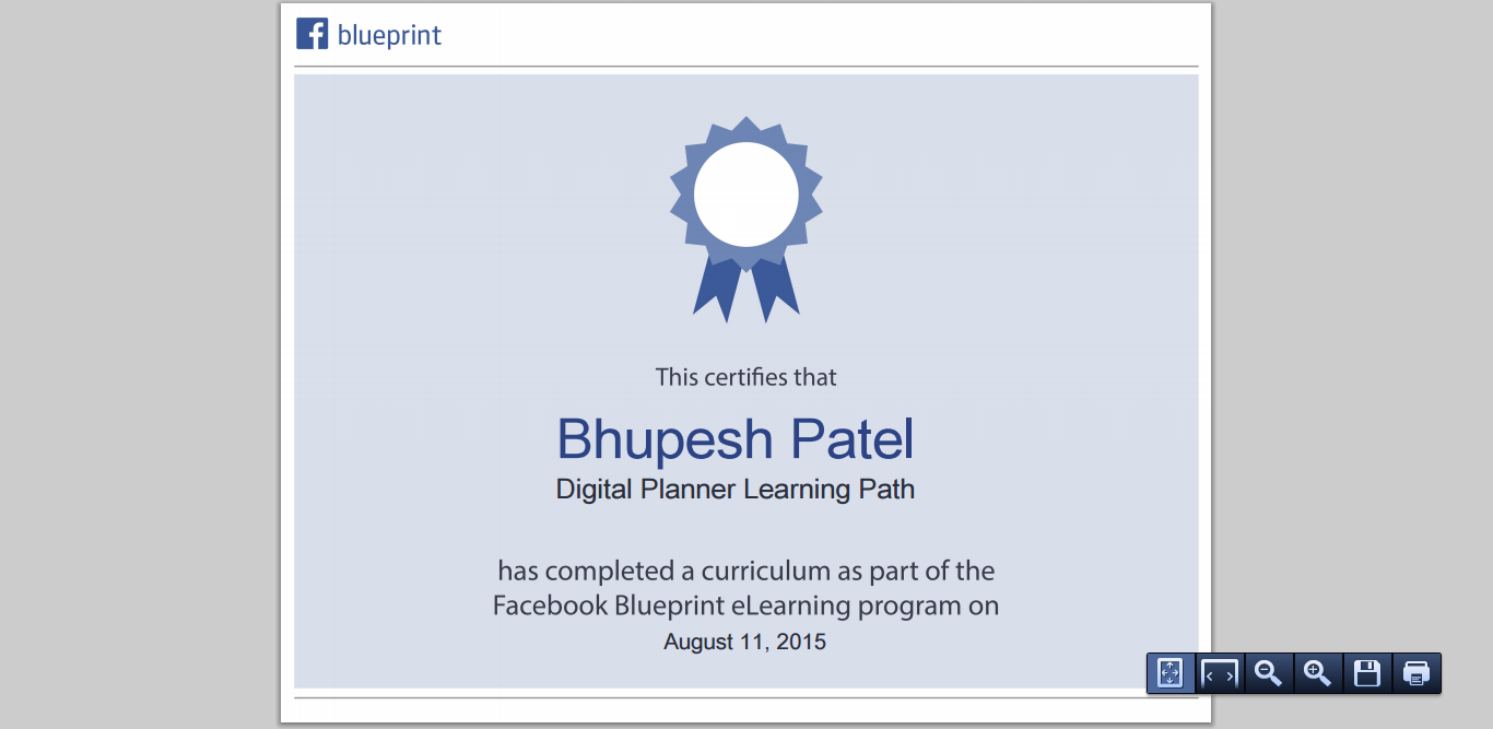 Facebook certification for digital planner learning path powered facebook certification for digital planner learning path powered by facebook blueprint malvernweather Images