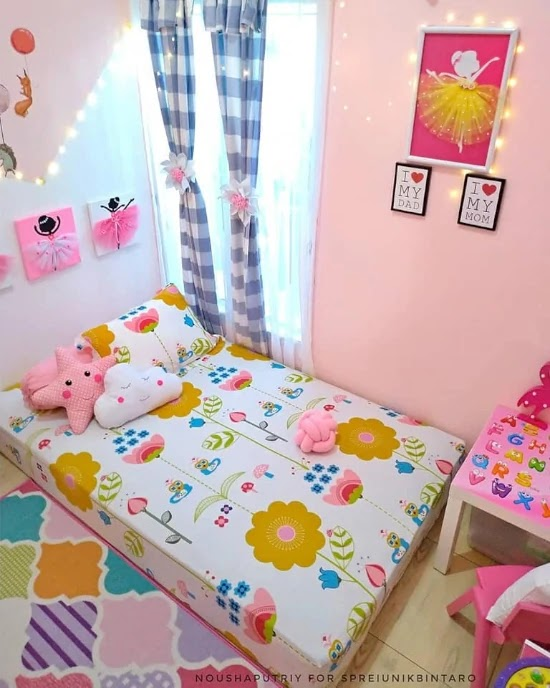 Kombinasi Cat Kamar Warna Biru Dan Pink