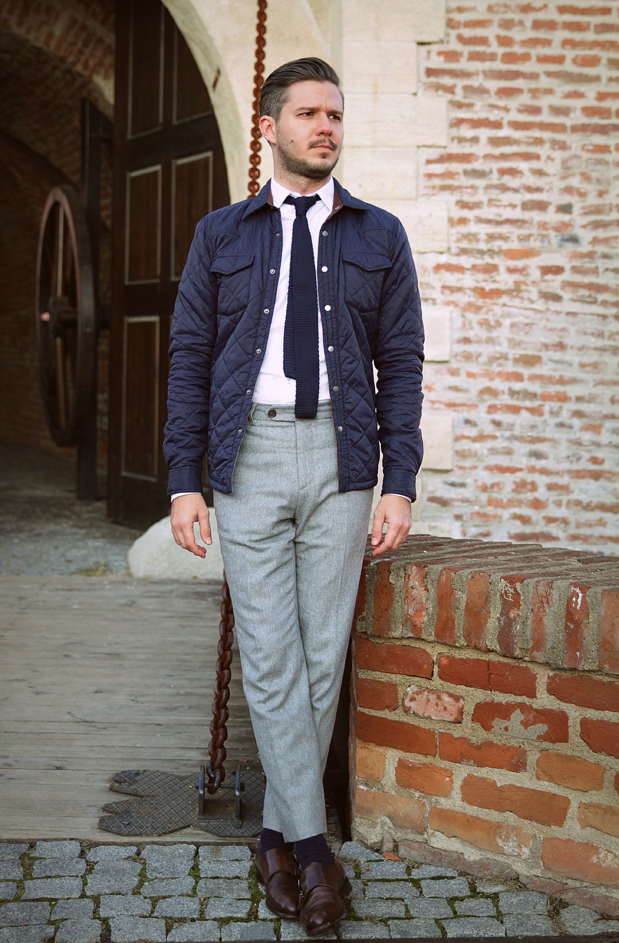c21e3153 Trousers: H&M Shirt: Zara Tie: Zara Jacket: Zara Shoes: Zara FOLLOW :  Guidomaggi Shoes Pinterest | Guidomaggi Shoes Instagram MenStyle1 Facebook  | MenStyle1 ...