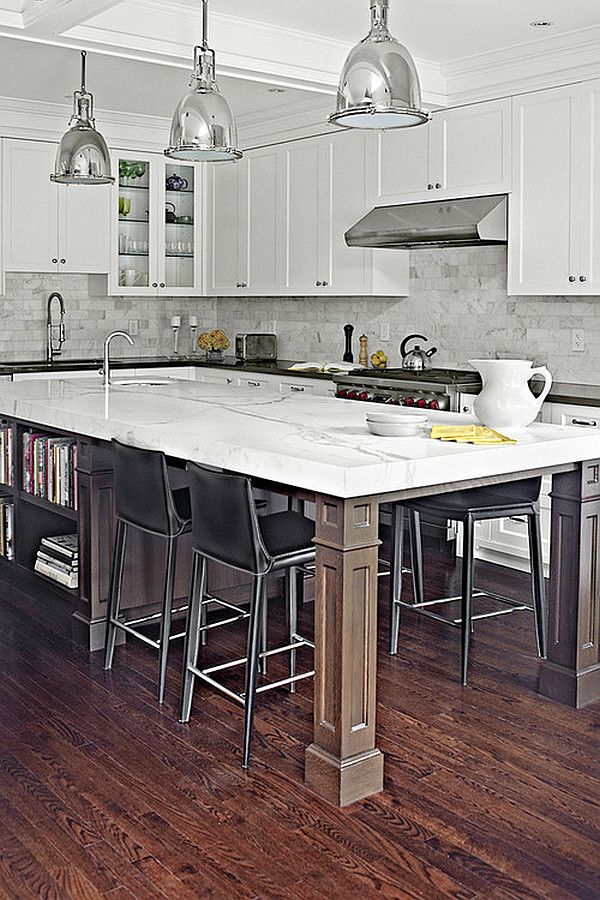 Kitchen Island Design Ideas Types