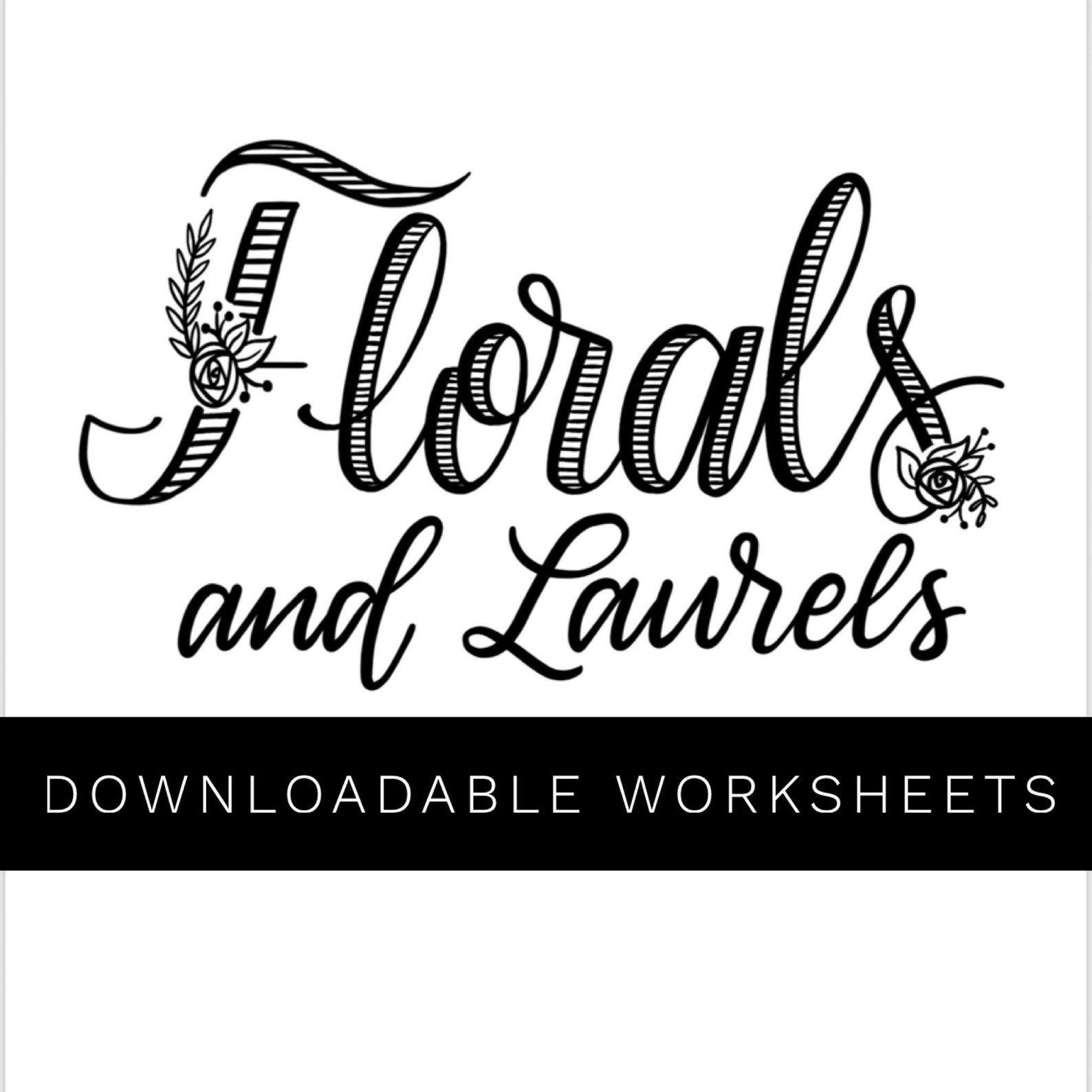 Florals Amp Laurels Download With Images