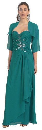 Mother of the Bride Formal Evening Dress #2838 [List Price: $239.99 -  Sale Price: $139.99 - You Save: $100.00 (41%) ]