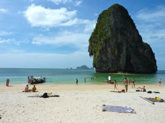 Phra Nang Beach Krabi Town Thaïlande Venez Découvrir Ces Plages Magnifiques