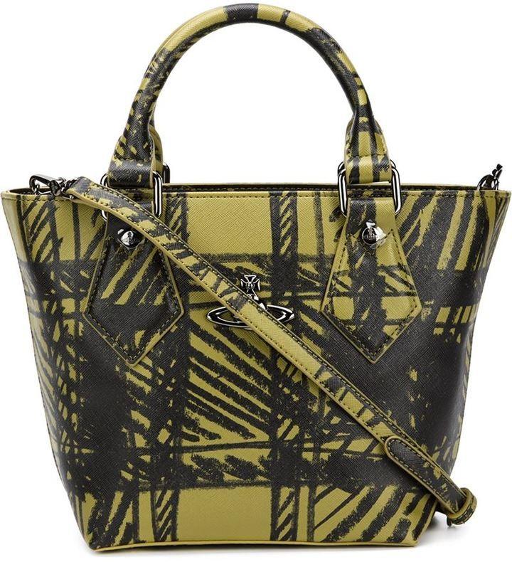 f553b5e689 Vivienne Westwood Anglomania tartan print tote | Tote Bags | Bags ...