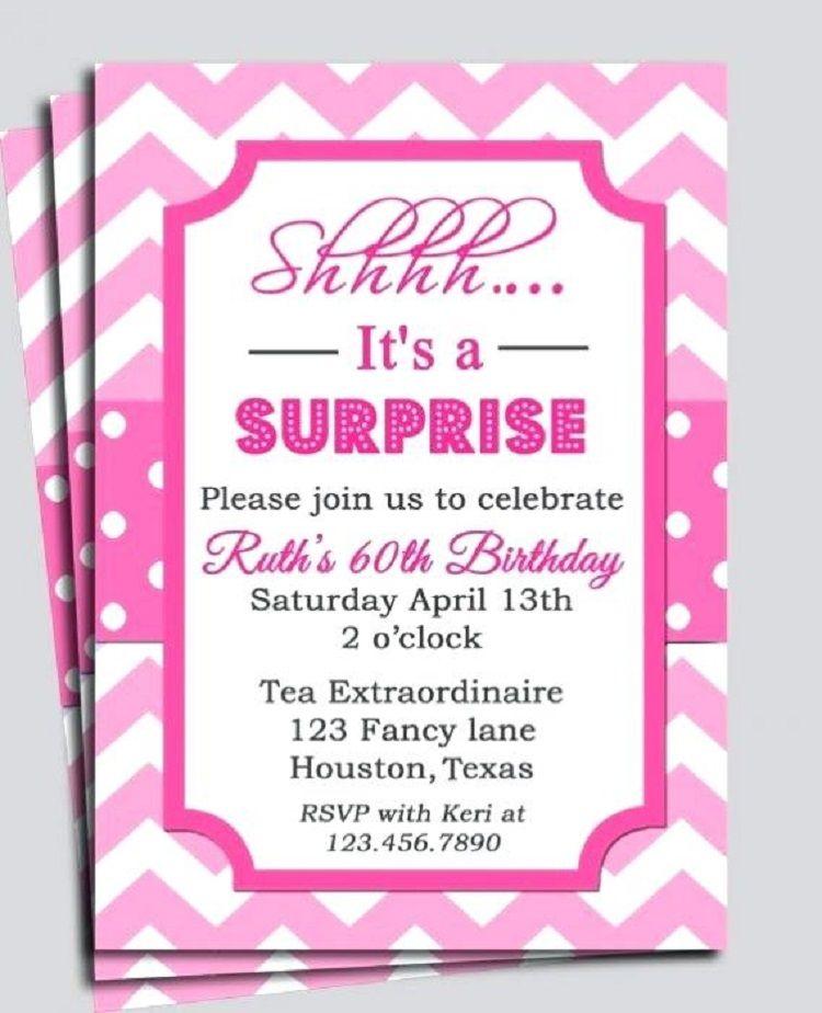 Surprise Baby Shower Invitation Ideas
