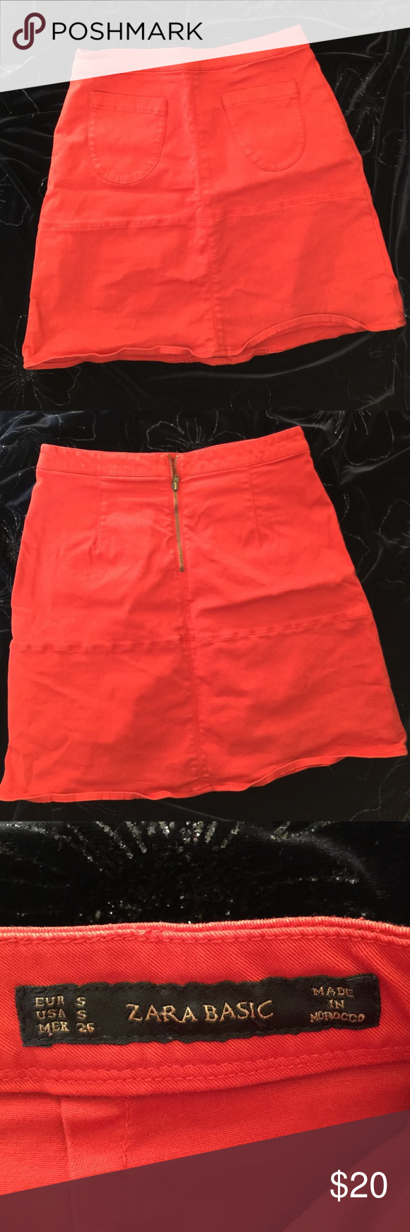 🌎Zara Mini Skirt Good Condition. worn only a few times. Zara Skirts Mini