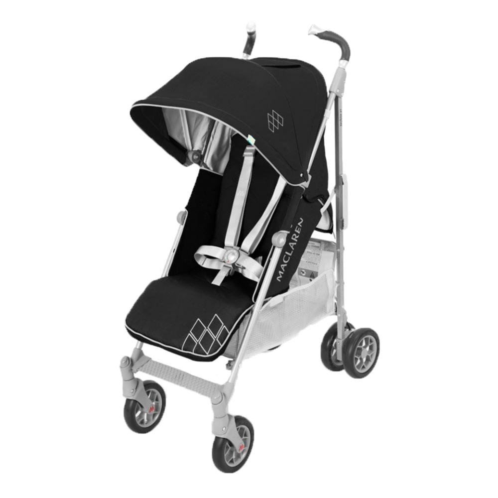Maclaren Techno XT Pushchair Black/Silver Stroller