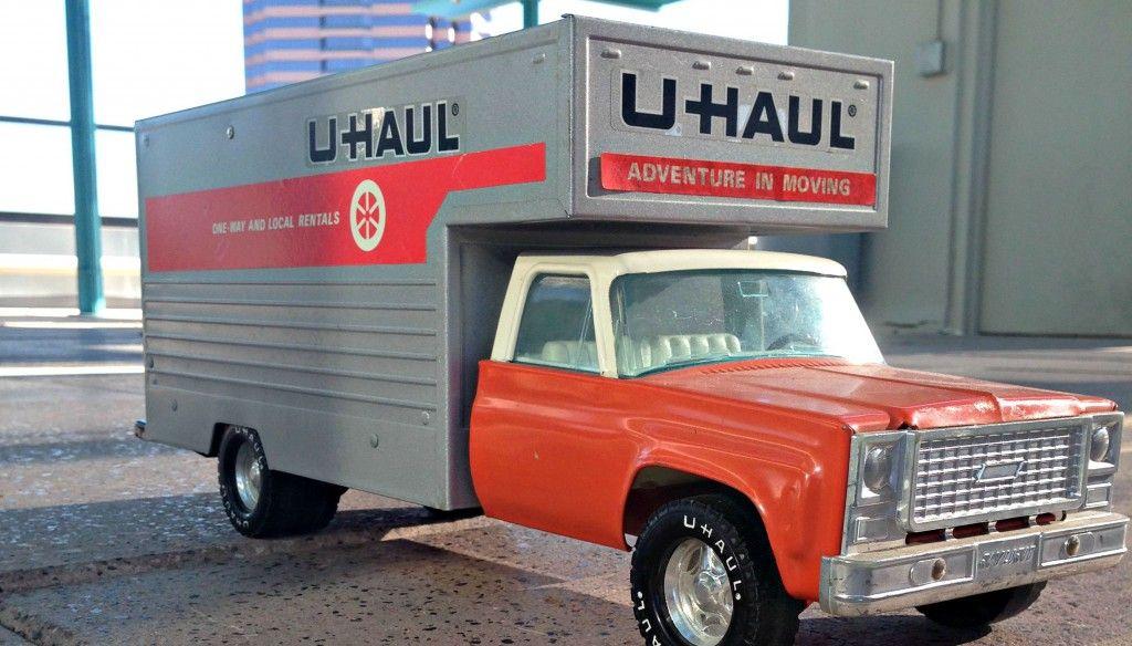 The History of Vintage UHaul Toys Toys, Vintage