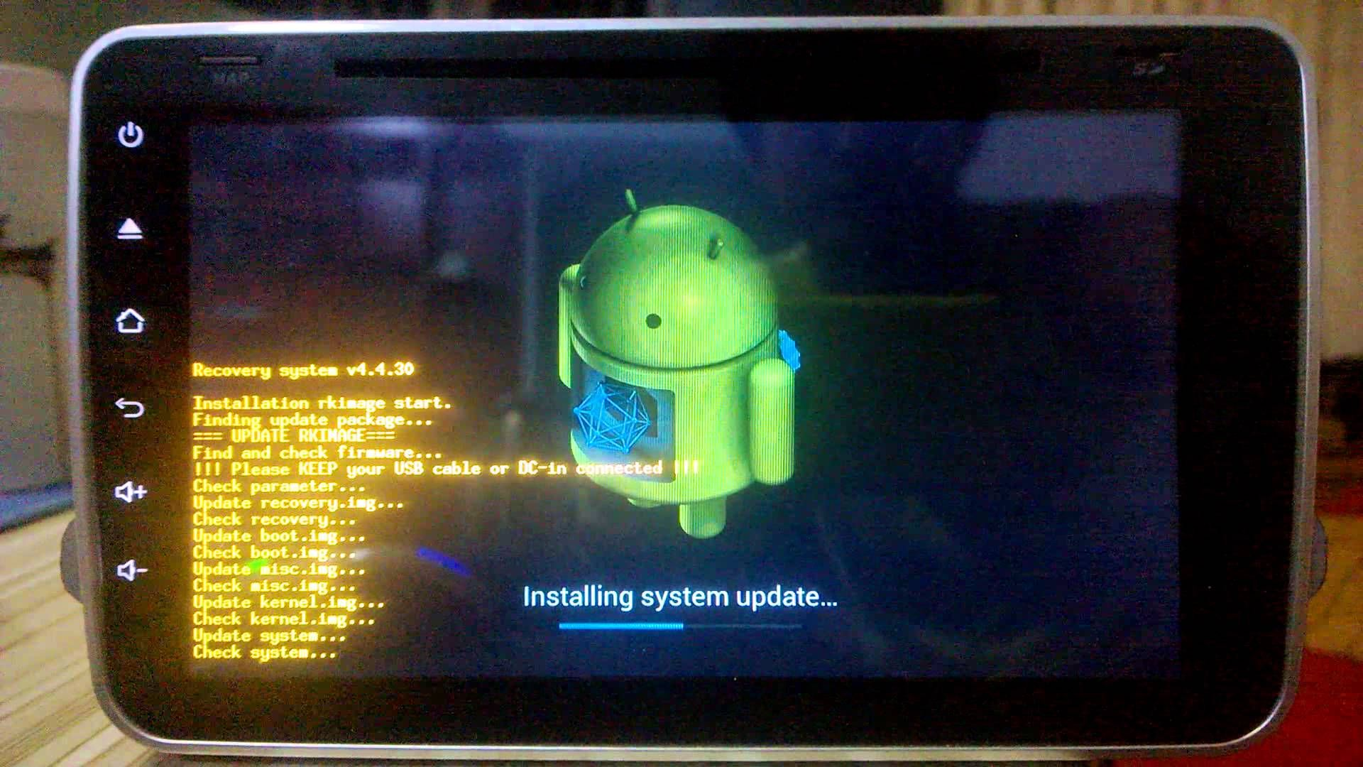 Update Quad Core RK3188 16GB Memory Android 4 4 4 version