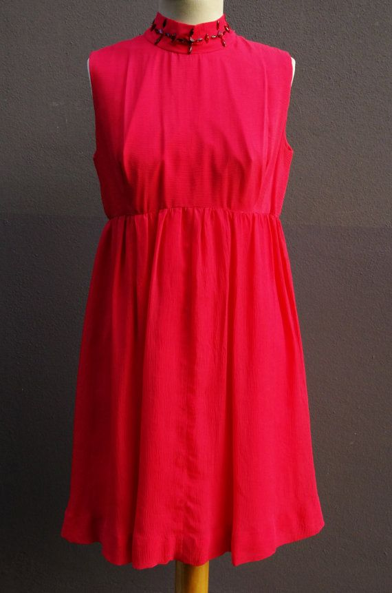 Original vintage 60s georgette crepe party dress di LePollastre, €50.00
