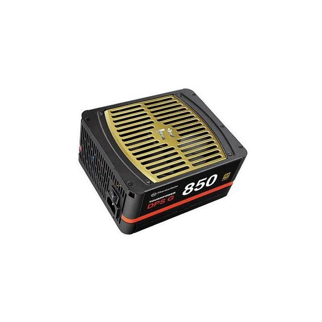 Thermaltake Toughpower DPS G PS-TPG-0850DPCGUS-G 850W 80 PLUS Gold ATX12V 2.31 & SSI EPS12V 2.92 Power Supply (Black)
